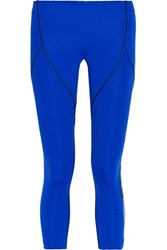 Fendi Coated Stretch Leggings Royal Blue