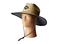 Rip Curl Palm Time Straw Hat Sable Traditional Hats Brown