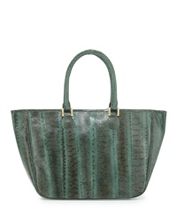 Beirn Ronnie Snakeskin Tote Bag Army Green