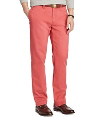 Polo Ralph Lauren Classic Fit Cotton Chino Pants Red