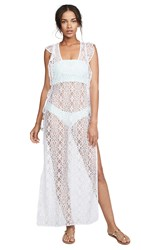 Pilyq Lulu Lace Cover Up White