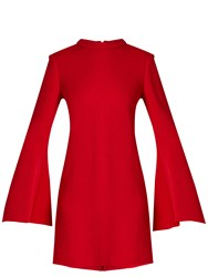 Ellery Duckie Flared Sleeve Mini Dress