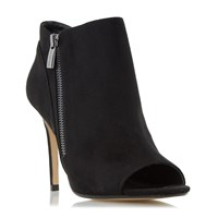 Head Over Heels Catty Peep Toe Courts Black