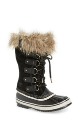 Sorel Women's 'Joan Of Arctic' Waterproof Snow Boot Black Stone