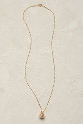 Catherine Weitzman Gemology Necklace Peach