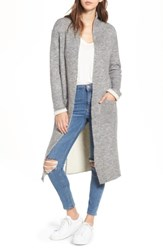 Lost And Wander Women's Astrid Duster Sweater Grey