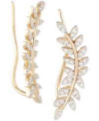 Wrapped In Love Diamond Ear Crawlers 1 5 Ct. T.W. 14K Gold Created For Macy's No Color