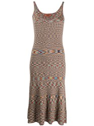 Missoni Abstract Print Mid Length Dress 60