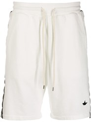 Macchia J Ice Star Track Shorts White