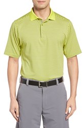 Bobby Jones Men's 'Edge Stripe Xh20' Stretch Golf Polo Electric