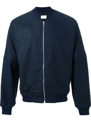 Simon Miller 'Zipped' Bomber Jacket Blue