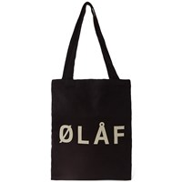 Olaf Hussein Tote Bag End. Exclusive Black