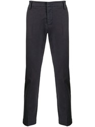 Entre Amis Tailored Chino Trousers Blue