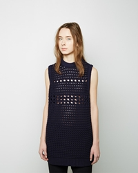 Proenza Schouler Sleeveless Knit Tunic Navy