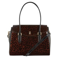 Hobbs Harrogate Work Bag Tortoise Shell