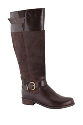 San Jacinto Santa Rita Wide Calf Riding Boot Wide Width Available Brown