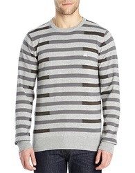 Bench Stagger Slim Fit Sweater Grey Marl