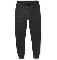 Burberry Brit Skinny Fit Cotton Jersey Sweatpants Black