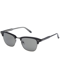 Garrett Leight Lincoln Sunglasses Black And Pure Grey