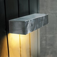 Amara Galvanized Steel Maxi Outdoor Wall Light
