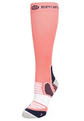Skins Essentials Sports Socks Pomelo Midnight Coral