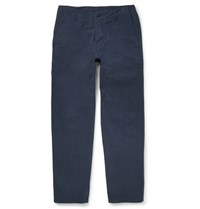 Albam Garment Dyed Cotton Chinos Blue