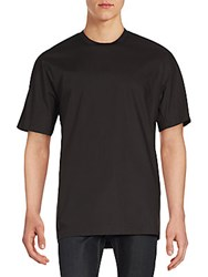 3.1 Phillip Lim Stretch Cotton Dolman Tee Black