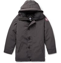 Canada Goose Chateau Shell Hooded Down Parka Anthracite