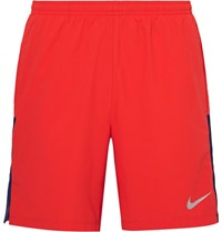 Nike Running Flex Challenger Dri Fit Shorts Red