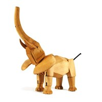 Areaware Hattie The Elephant Multicolor