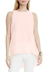 Vince Camuto Women's High Low A Line Blouse Rosewater