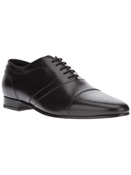 Saint Laurent Classic Oxford Shoes Black