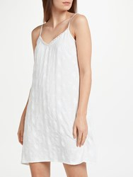 Cyberjammies Georgia Embroidered Chemise White