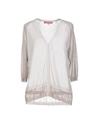 L'autre Chose L' Autre Chose Cardigans Light Grey