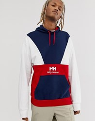 Helly Hansen Urban Retro Hoody In Red White