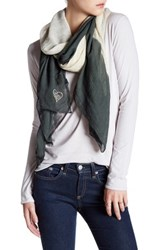 Italca Colorado Cornice Cold Dyed Scarf Gray
