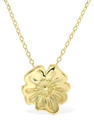 Aym California Poppy Necklace Gold
