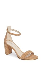 Kenneth Cole Women's New York 'Lex' Ankle Strap Sandal Natural Cork