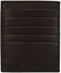 Rick Owens Black Card Holder