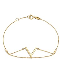 Moon And Meadow V Chain Bracelet In 14K Yellow Gold 100 Exclusive