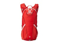 Salomon Trail 10 Set Bright Red White Backpack Bags