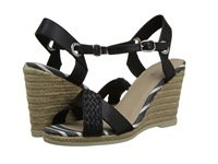 Sperry Saylor Black Woven Women's Wedge Shoes