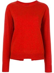 Isabel Marant Clash Pullover Red