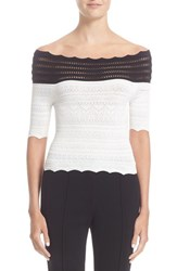Yigal Azrouel Women's Off The Shoulder Knit Top
