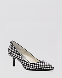 Michael Michael Kors Pointed Toe Pumps Mk Flex Kitten Heel