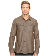 Outdoor Research Gastown Long Sleeve Shirt Earth Men's Clothing Brown
