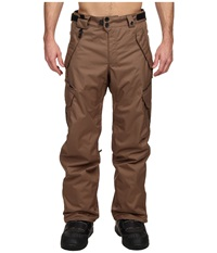 686 Authentic Smarty Cargo Pant Regular Tobacco Men's Outerwear Brown