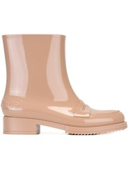 N 21 No21 No21 Loves Kartell Rain Boots Pink And Purple