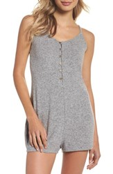 Make Model Forever Young Romper Grey Flannel Marl