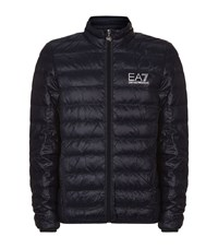 Armani Ea7 Quilted Technical Jacket Male Navy